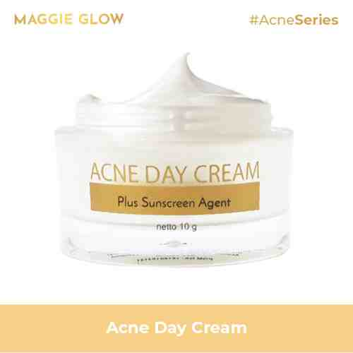 MAGGIE GLOW ACNE DAY CREAM - 10GR