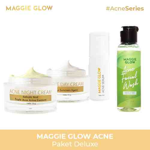 MAGGIE GLOW ACNE DELUXE