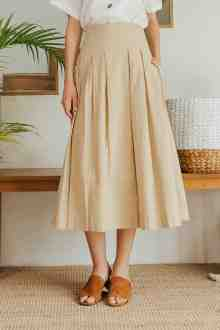 AGATHA SKIRT IN CREME