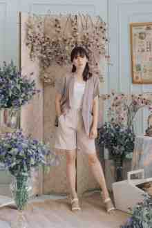 GION OUTERWEAR IN PALE ROSE
