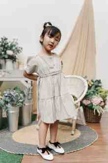 MINI LEIKA DRESS IN MOON SHADOW (po week 2 feb)