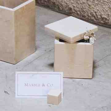 Coperchio Marble Box