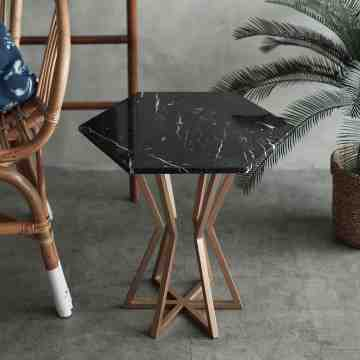 Exagono Side Table