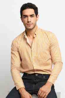 Toby Gold Stripe Shirt