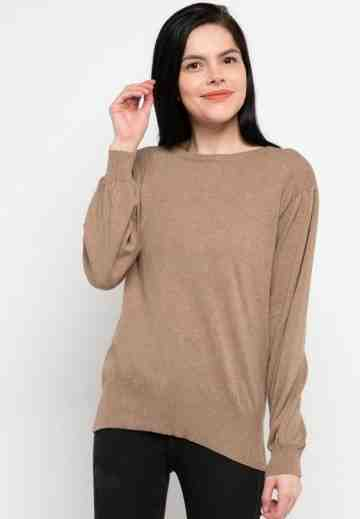 Basic Knit Blouse image