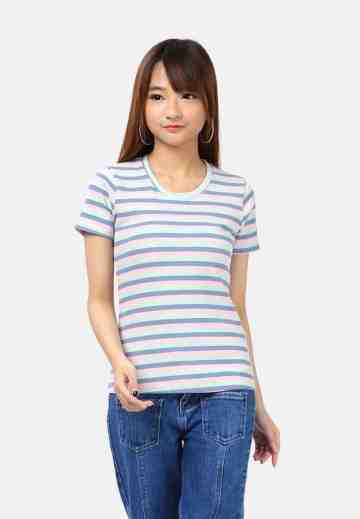 Colourfull Stripe Blouse image