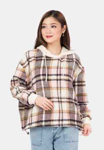 Sweater Flanel with Hoody image