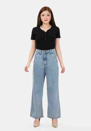 MKY Clothing Kulot Jeans Highwaist image