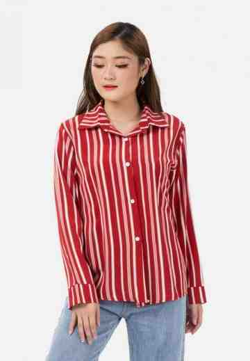 Stripe Long Sleeve Shirt image