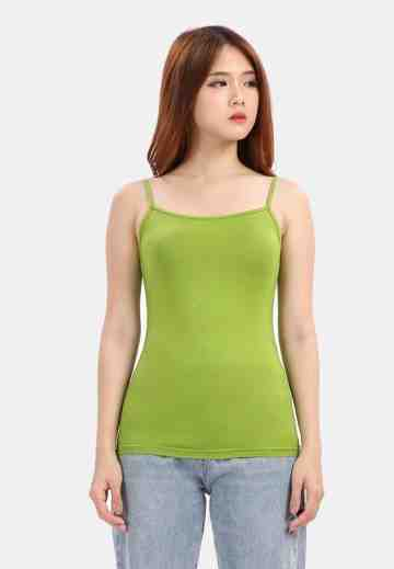 Plain Tanktop in Green image