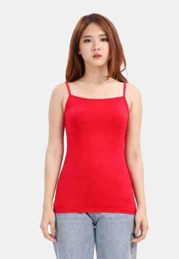 Plain Tanktop in Red image