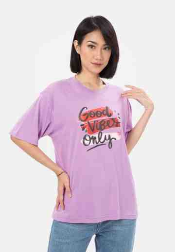 Good Vibes Only Oversized T-shirt image