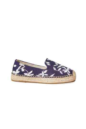 """Shiloh"" Embroidered Espadrilles"