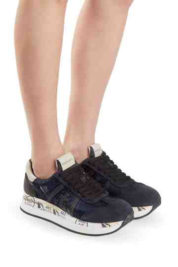 """Conny 1491"" Calf Leather Sneakers"