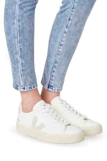 Campo White Natural Chromefree Leather Sneakers