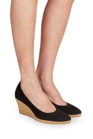 """Teva"" Suede 6cm Wedge Pumps"