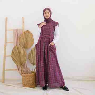Alula Dress MAROON