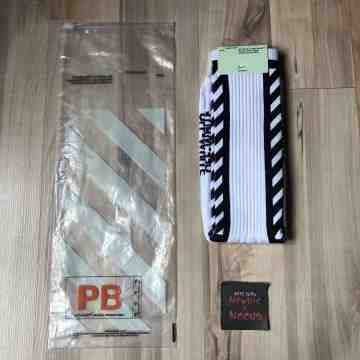 Off White Diagonal Brush White