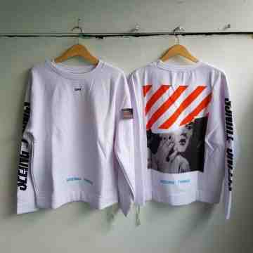 Off White Photocopy Crewneck