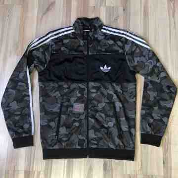 Bape x Adidas Firebird Jacket Black