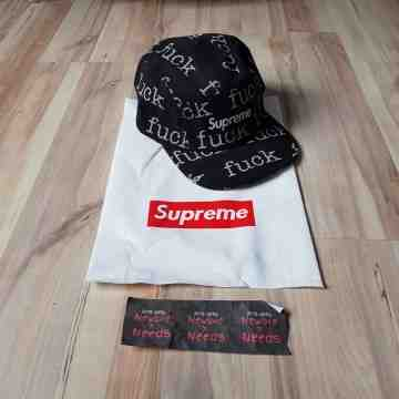 Supreme FCK 5 Panel Camp Cap