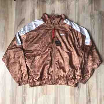 NIKE x CLot Jacket Rose Gold