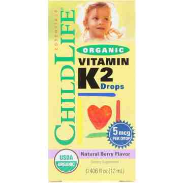 (Pre-Order) Childlife Organic Vitamin K2 Drops 12ml