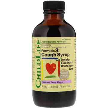 (Pre-Order) Childlife Formula3 Cough Syrup 118,5ml
