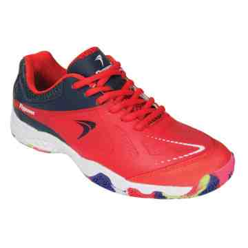 Sepatu Badminton Flypower Losari 03 Junior (Red/Navy/White)