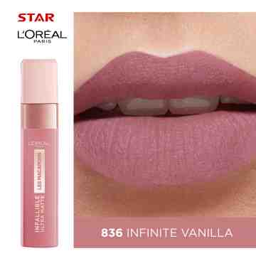 LOREAL LIPSTICK INFALLIBLE LES MACARONS 836 AS