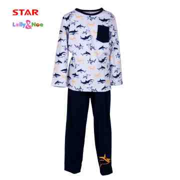 Lolly & Noe Boy Pajamas 0120 CBOYS0088 image