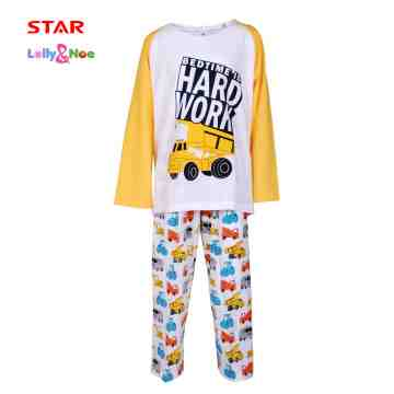 Lolly & Noe Boy Pajamas 0120 CBOYS0082 image