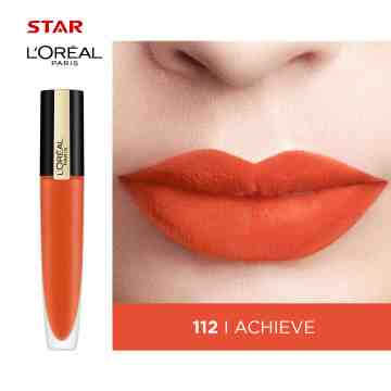 LOREAL LIPSTICK ROUGE SIGNATURE GLS 112 A