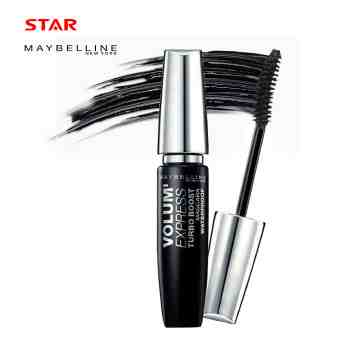 MAYBELLINE MASCARA VOL-EX TURBO WP RENO BLACK