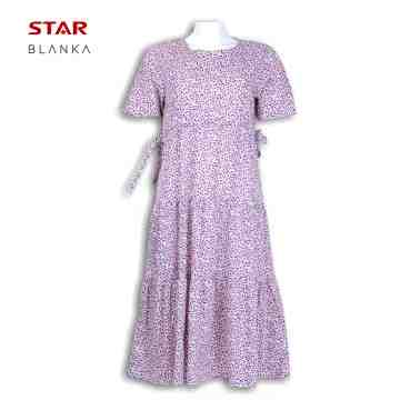 Blanka Friska 3/4 Sleeve Dress Pink image