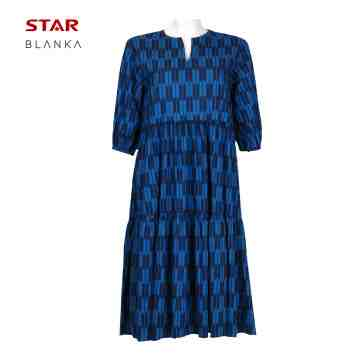 Blanka Friska 3/4 Sleeve Dress Blue image