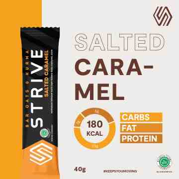 STRIVE RASA SALTED CARAMEL 1 BOX ISI 6 PCS