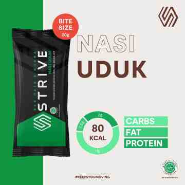 STRIVE BITE SIZE NASI UDUK 1 BOX ISI 5 PCS