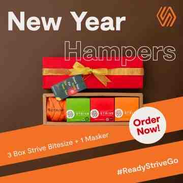 STRIVE NEW YEAR HAMPERS