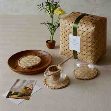 Bamboo Hampers Gift Tea Set