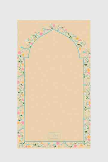 Tiara Prayer Mat 031 Brown image