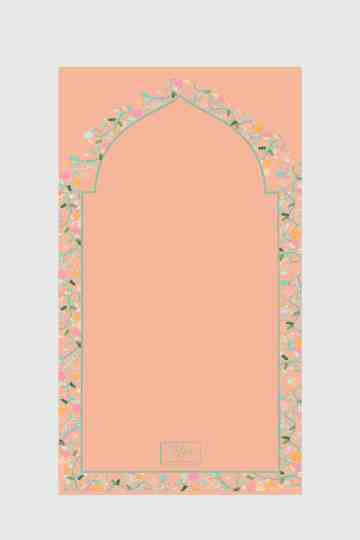 Tiara Prayer Mat 031 Peach image