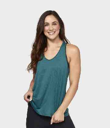 Breeze Racerback Tank - Emerald