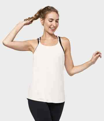 Adorn Braided Strap Tank - Blush
