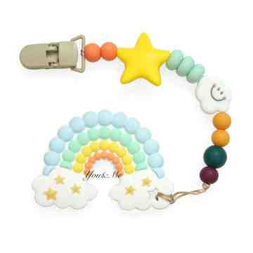 Rainbow Teether Set image